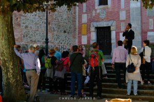Ruta literaria Teatralizada turismo Hervas